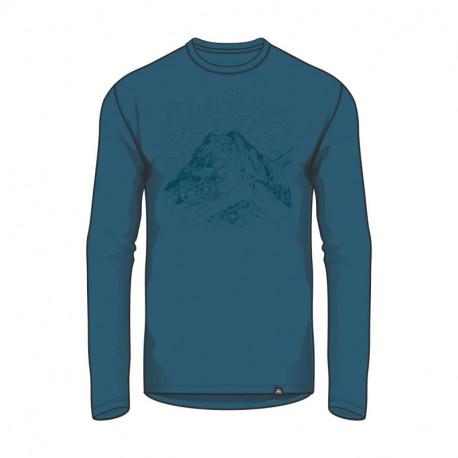 NORTHFINDER pánske tričko bavlna s potlačou VASTYN