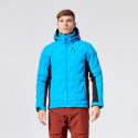 Men's ski bonded jacket insulated with PRIMALOFT down blend 2L ZAGY