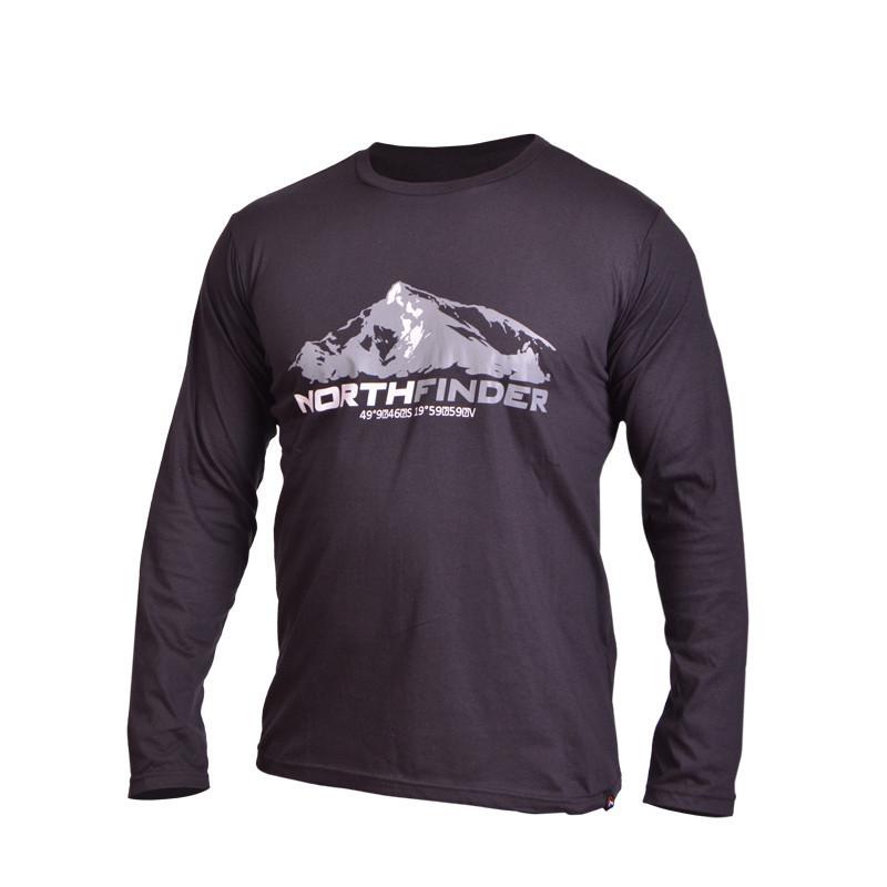 TR-3189OR pánske tričko LOURDES - NORTHFINDER pánske tričko cotton hill LOURDES