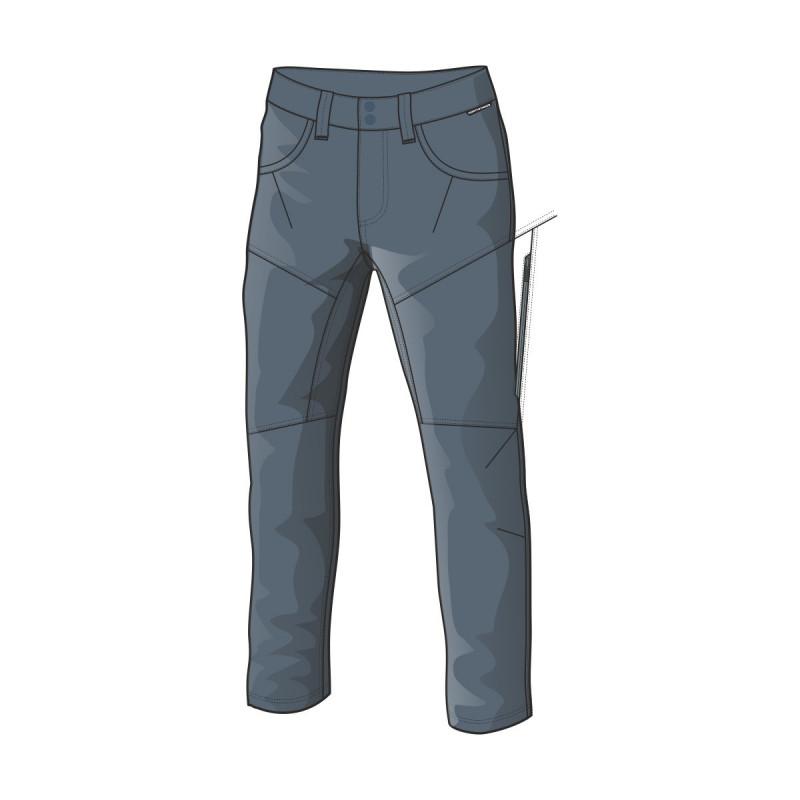 NO-3456OR men's casual trousers cotton-stretch 1L GERALD - NORTHFINDER pánske nohavice casual bavlnené-strečové 1L GERALD