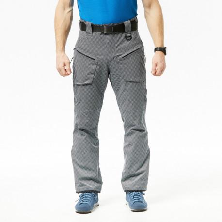NORTHFINDER pánské allowerprint kalhoty zateplený sníh série 2L LAWERIT