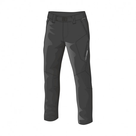 NORTHFINDER pánske nohavice pevný-softshell outdor 1/5 SIMET