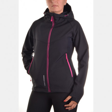 NORTHFINDER women's outdoor jacket 3-layer softshell VIOLFYINA