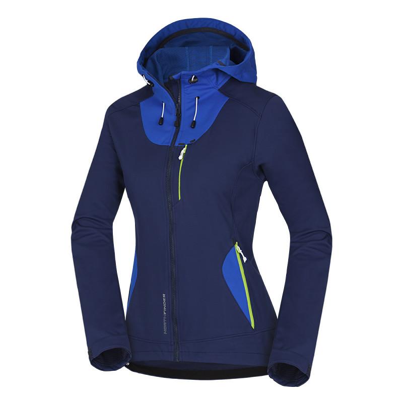BU-4442OR women´s jacket 3 layers softshell technical GEORGIA - NORTHFINDER dámska bunda 3 layers softshell technical GEORGIA