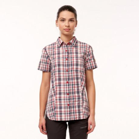 NORTHFINDER women's free time shirt short sleeve VIOLET