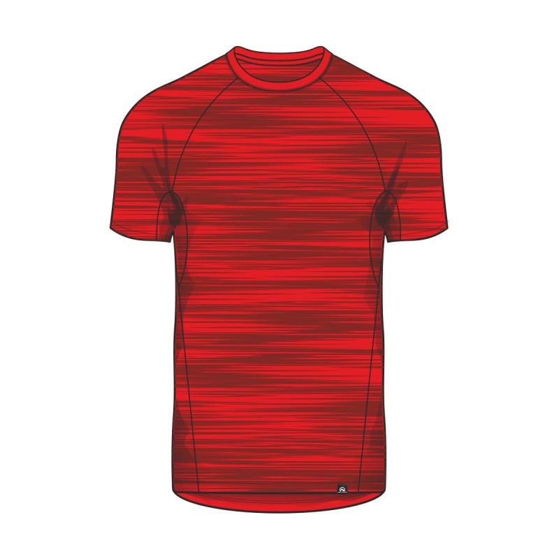 TR-3354SP men's melange t-shirt street-look shortsleeve BOMERS - NORTHFINDER pánske melanžové streetové tričko krátky rukáv BOMERS