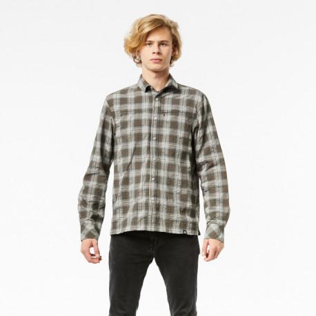 NORTHFINDER pánská outdoorová košile checkstyle STANGORY