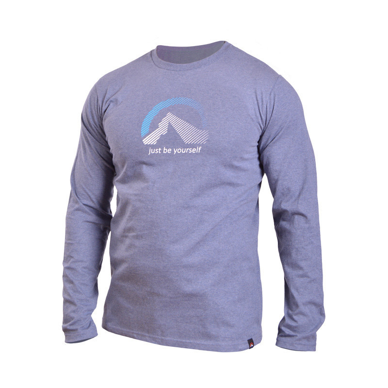 TR-3193SNW pánske tričko LOWELL - NORTHFINDER pánske tričko cotton logo LOWELL