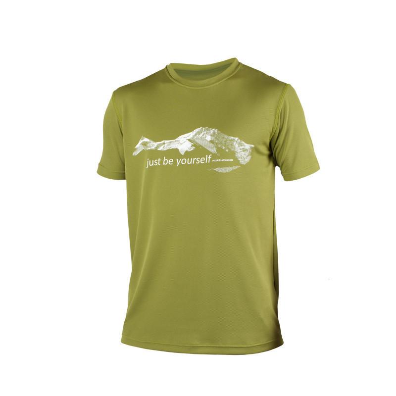 TR-3211OR pánske tričko NOLAS - NORTHFINDER pánske tričko mountain NOLAS