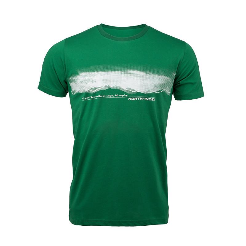 TR-3277OR men's t-shirt outdoor pixel print JAEDEN - NORTHFINDER pánske tričko outdoor pixel print JAEDEN