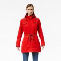 Dámska bunda stretový štýl vlnený vzhľad 2L LOHYA