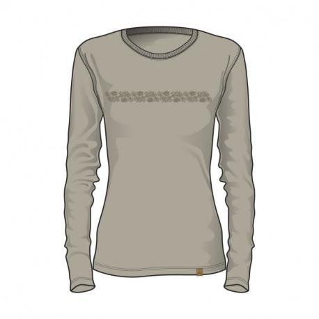 NORTHFINDER dámske tričko organická bavlna ORGESA